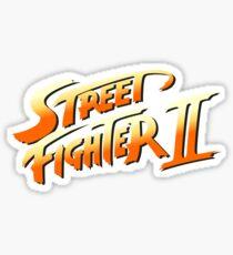 Street Fighter 2 Sticker
