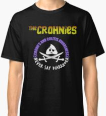 The Crohnies (poop and swords) - Crohn's and Colitis Awareness Classic T-Shirt