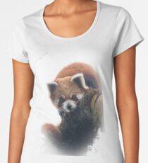 Wild red panda Women's Premium T-Shirt