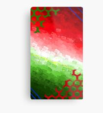 O Christmas Tree Color Print Metal Print