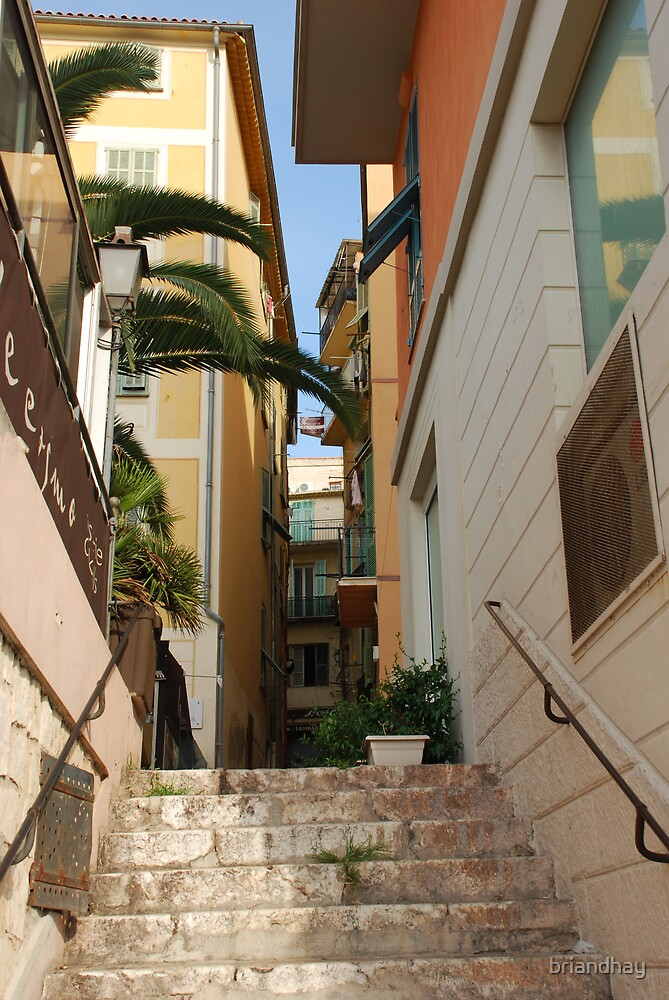 street in Villefranche by briandhay