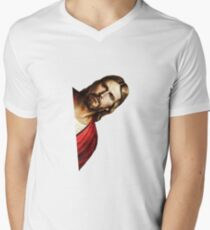 Peeking Jesus Parody - Funny Jesus Meme Sticker T-Shirt Pillow T-Shirt