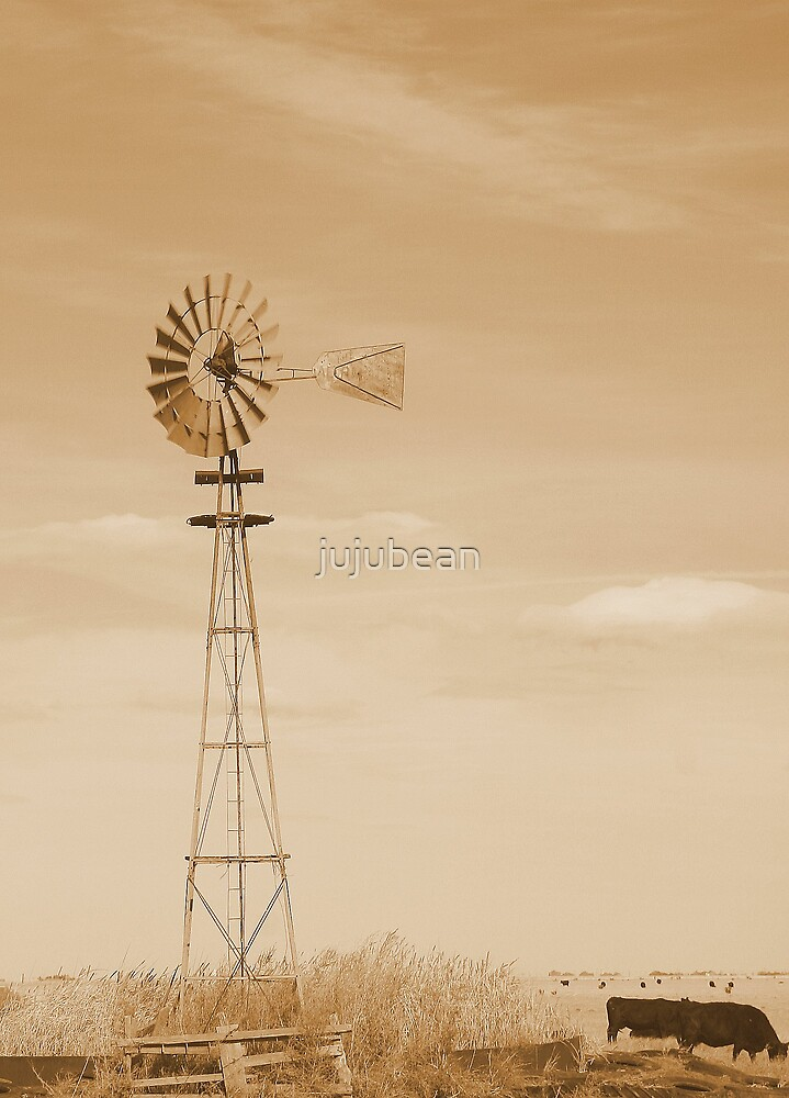 A working windmill by jujubean