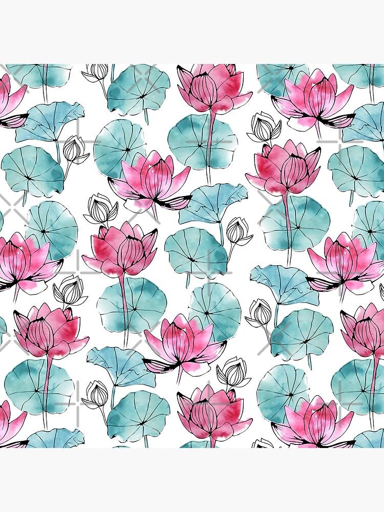 Waterlily buds by adenaJ
