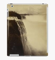Niagara Falls around 1888 Photograph iPad Case/Skin