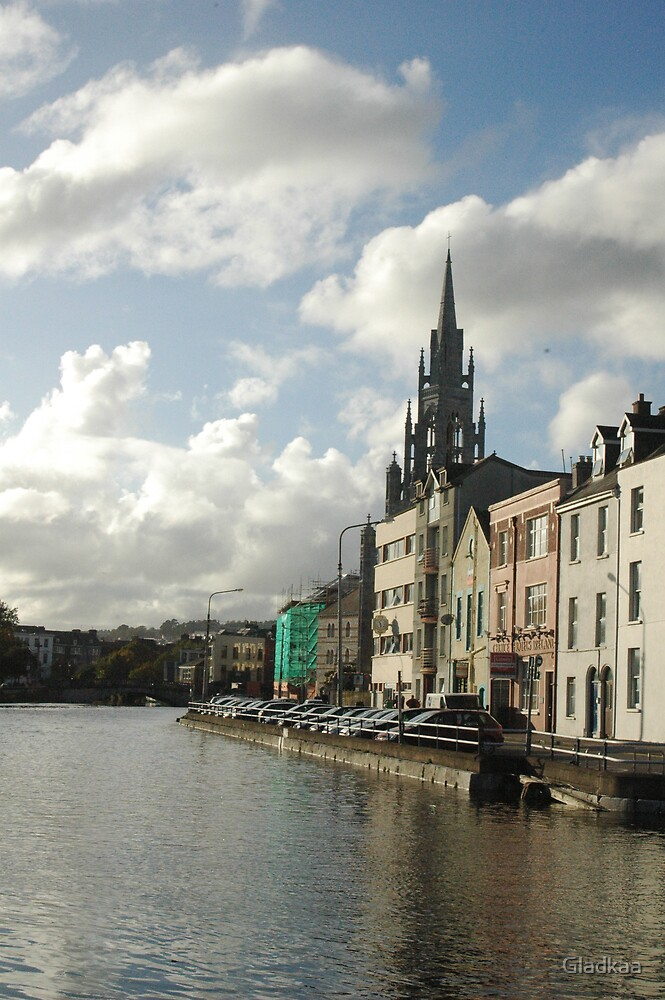 Cork city, Ireland by Gladkaa