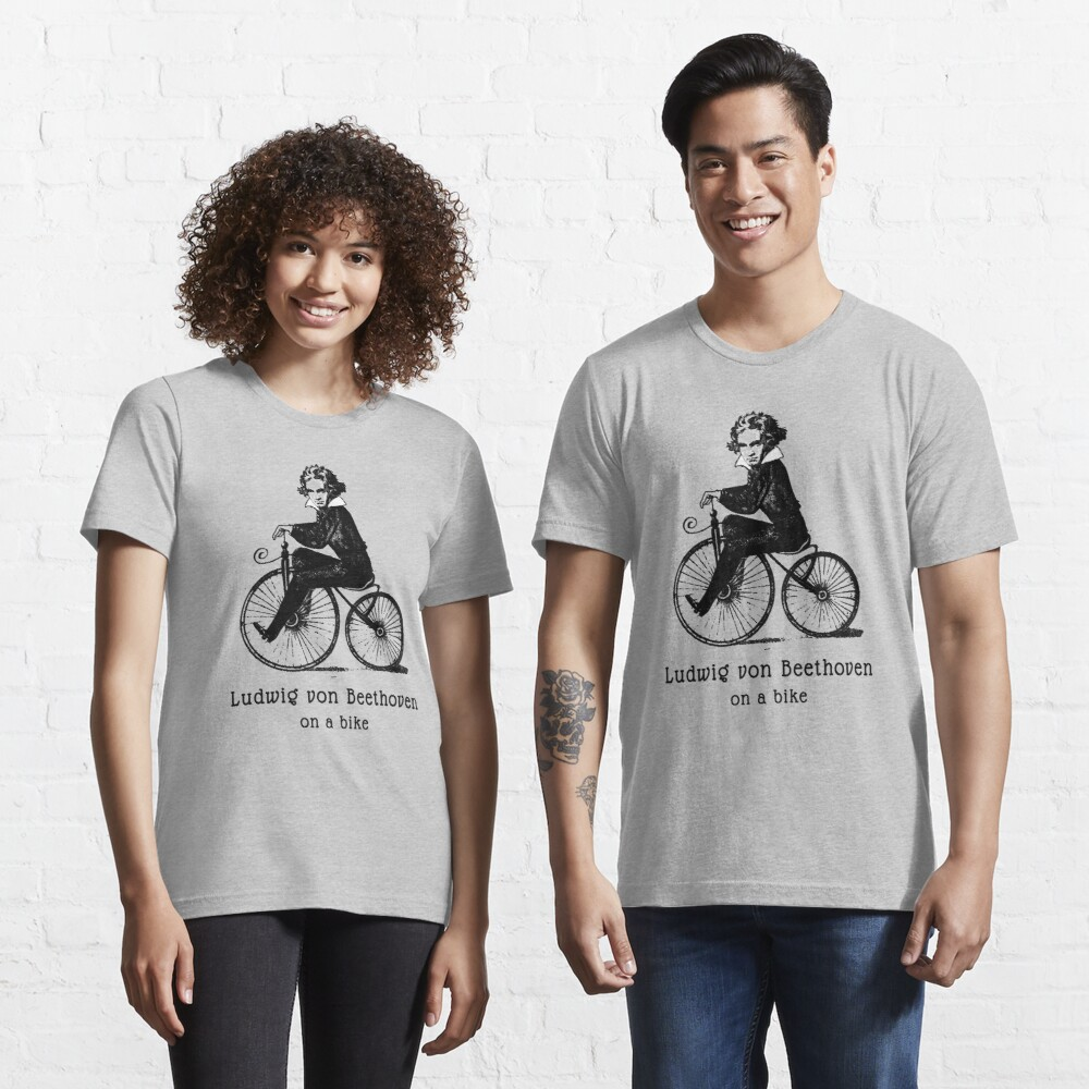 Beethoven on a Bicycle Essential T-Shirt