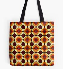 Retro Marigold Tote Bag