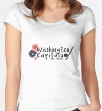 Washington Capitals Women's Fitted Scoop T-Shirt