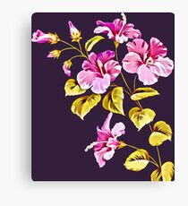 Honoring The Hibiscus Canvas Print