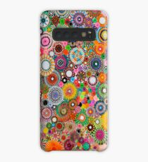 Childhood Dreams, a colourful spirograph drawing! Case/Skin for Samsung Galaxy