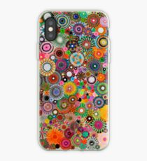 Childhood Dreams, a colourful spirograph drawing! iPhone Case