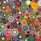 Childhood Dreams, a colourful spirograph drawing! by RachelEDesigns