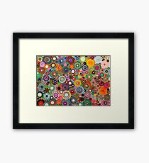 Childhood Dreams, a colourful spirograph drawing! Framed Print