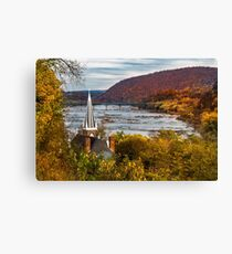 Harpers Ferry, West Virginia Canvas Print