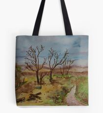 Along the path at Ben Lora Tote Bag