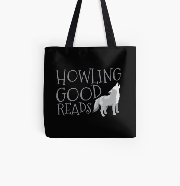 Howling good reads  All Over Print Tote Bag