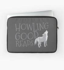 Howling good reads  Laptop Sleeve