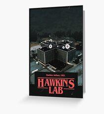 Hawkins Lab  Greeting Card