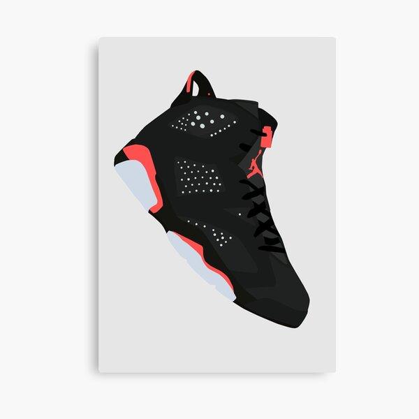 The Jordan 6 Infrared  Canvas Print