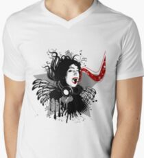 woman portrait and music T-Shirt