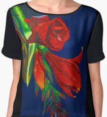 Budding Beauty Women's Chiffon Top