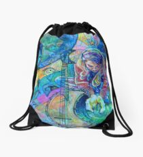 Earth Love Drawstring Bag