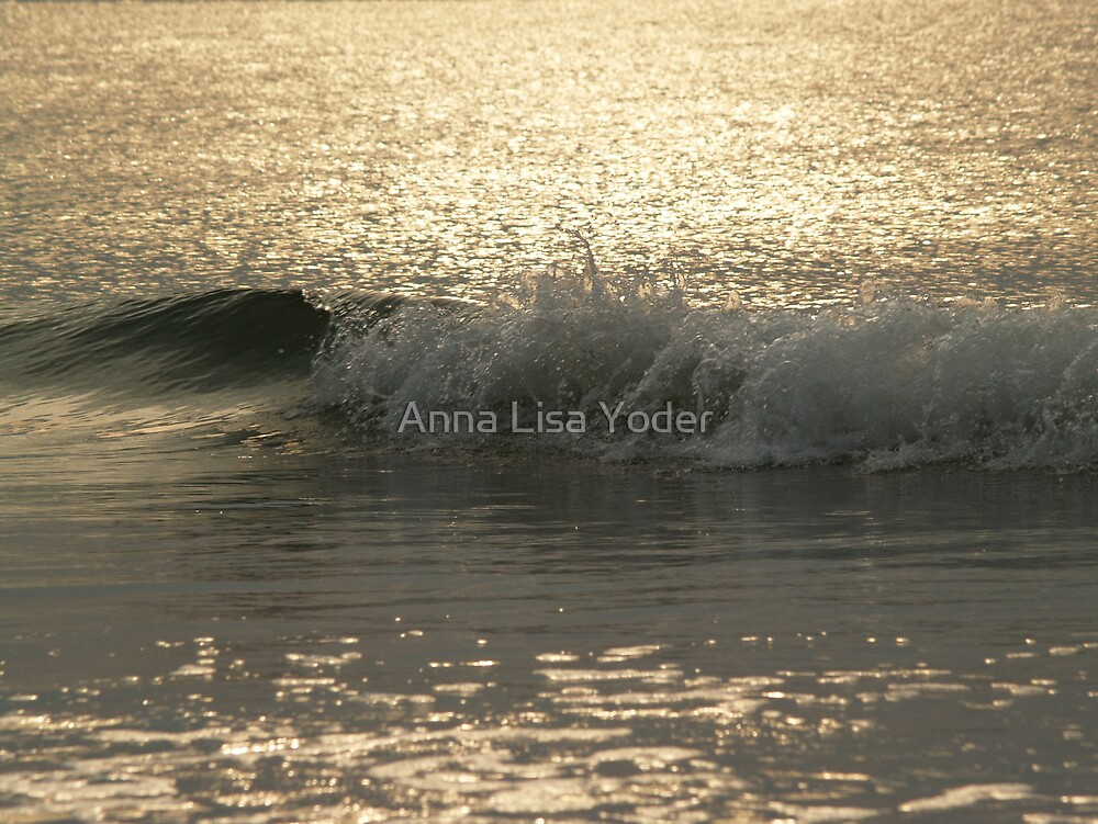 Sparkling Sea, Hunting Island Sunrise by Anna Lisa Yoder