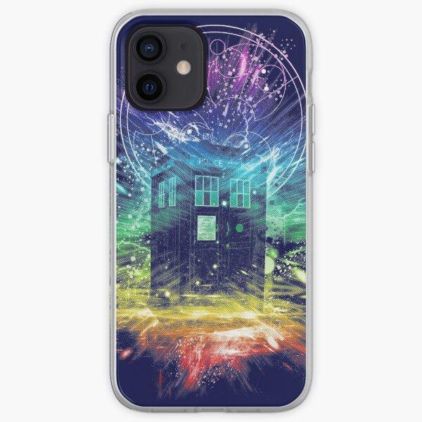 time storm-rainbow version iPhone Soft Case