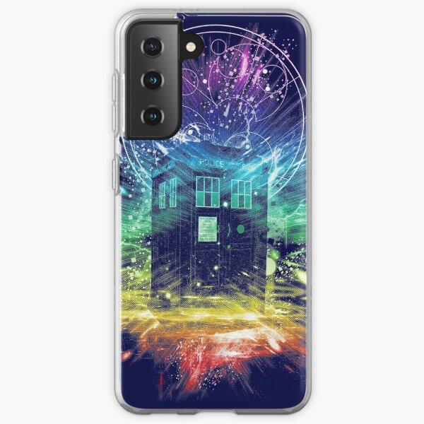 time storm-rainbow version Samsung Galaxy Soft Case
