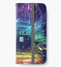time storm-rainbow version iPhone Wallet/Case/Skin