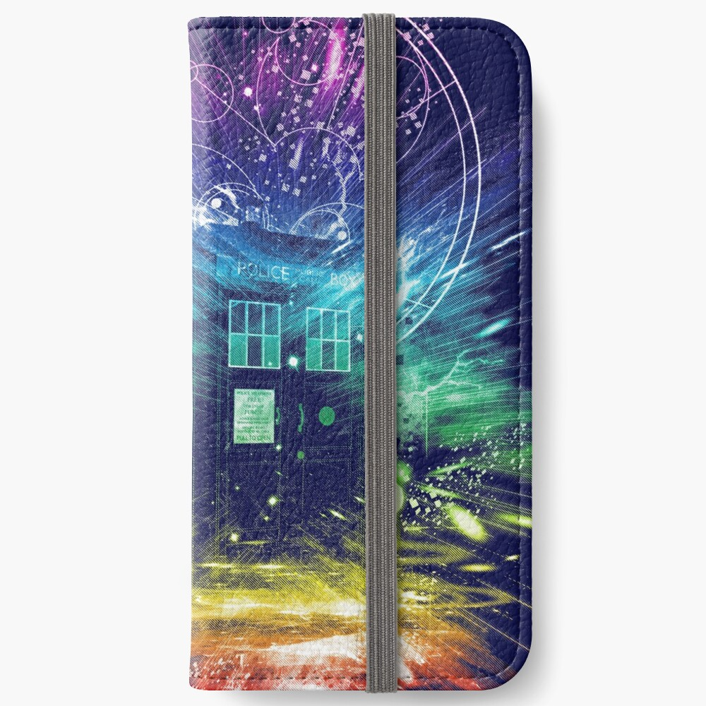 time storm-rainbow version iPhone Wallet