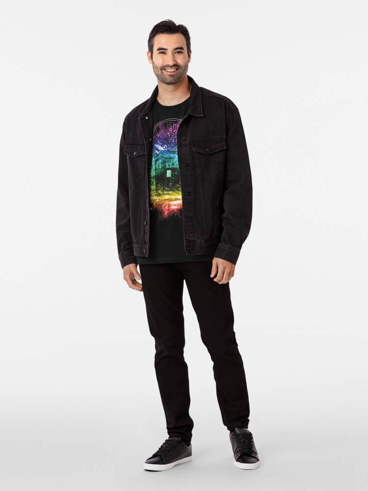Alternate view of time storm-rainbow version Premium T-Shirt