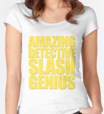 Brooklyn Nine Nine - Amazing Detective Slash Genius Women's Fitted Scoop T-Shirt