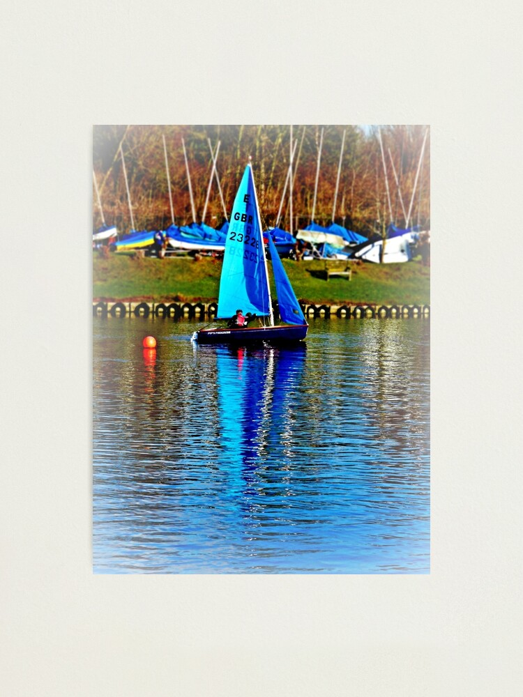 Alternate view of Little Bouy Blue Photographic Print