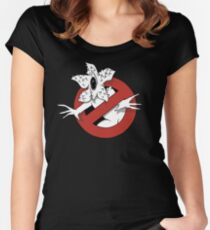 Demogorgon Busters (Ghost Busters) / Stranger Things Women's Fitted Scoop T-Shirt