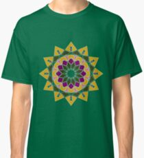 12 pointed star mandala Classic T-Shirt