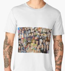 In Print Cast Men's Premium T-Shirt