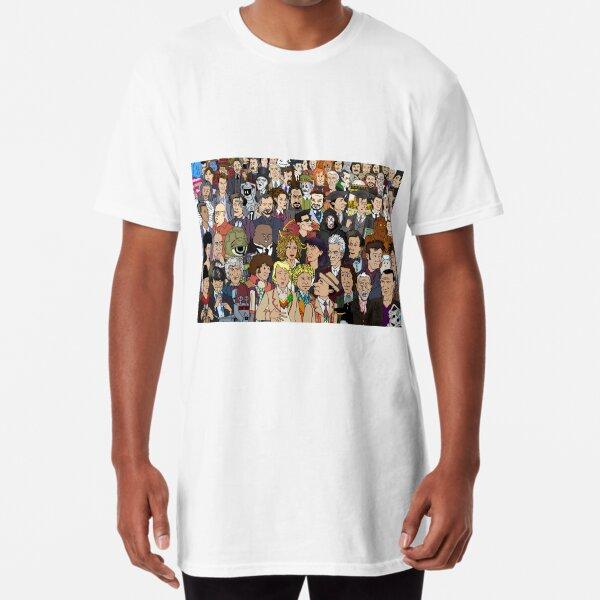 In Print Cast Long T-Shirt
