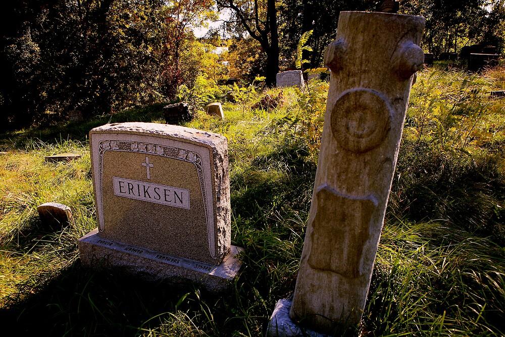 Odd grave marker by pmarella