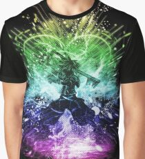 Königreich Sturm-Regenbogen-Version Grafik T-Shirt