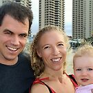 Suvi Mahonen With Her Family in Surfers Paradise by Suvi  Mahonen