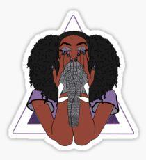 Elephant Woman  Sticker