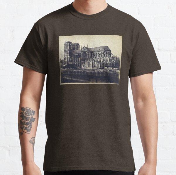 Notre Dame Cathedral 1850 - 1859 Paris France Photograph Classic T-Shirt