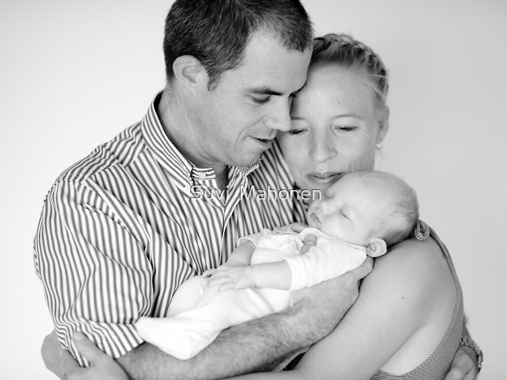 Suvi Mahonen With Her Husband and Baby Daughter by Suvi  Mahonen