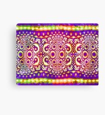 Abstract - purple Canvas Print