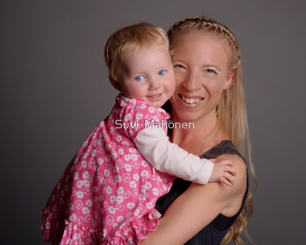 Suvi Mahonen And Daughter Amity by Suvi  Mahonen