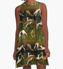 Greyhounds A-Line Dress