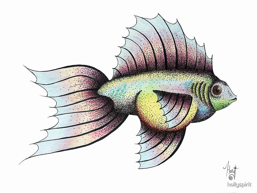 'rainbow fish' by hollyspirit