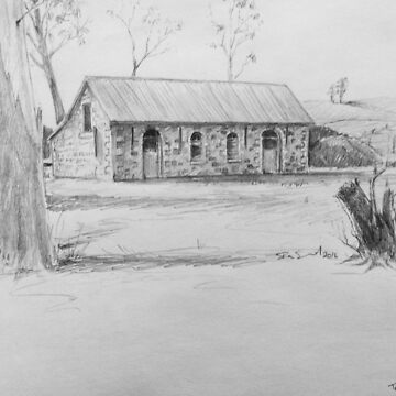 old stables @ Triabunna Tasmania by Ian Shiel by Ruckrova